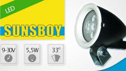 Sunsboy LED 9V-30V 5,5W 33°