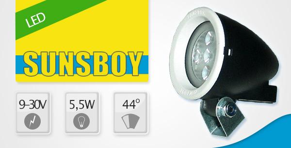 Sunsboy LED 9V-30V 5.5W 44°