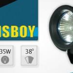 Sunsboy sinivalo 12V 35W 38°
